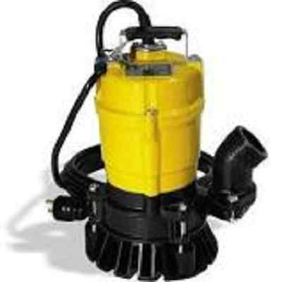 Wacker Neuson PST2 400 Submersible Pump, trash, 110V/60HZ, 1/2 HP, 20' cord. 5.4