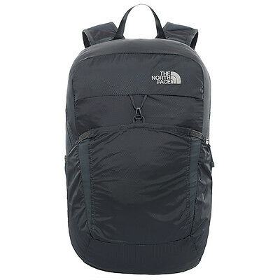 00 The North Face Flyweight Pack Zaino Comprimibile 17 L, Asphalt Grey