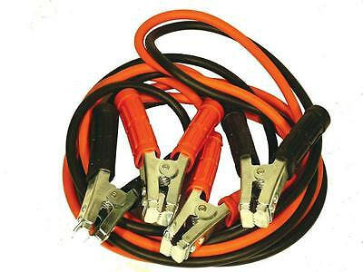 NEILSEN QUALITY HEAVY DUTY JUMP CABLES LEADS 600 amp CAR VAN BATTERY STARTER