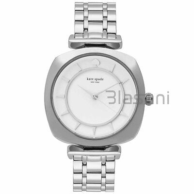 Kate Spade Original KSW1228 Women's Barrow Silver Stainless Steel Watch 34mm