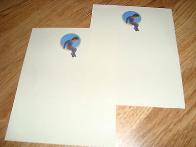 2 Authentic Michael Jackson Neverland Ranch Notes personally obtained from ranch