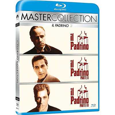 Blu-ray *** IL PADRINO - Trilogia (3 Br) (Master Collection) *** sigillato