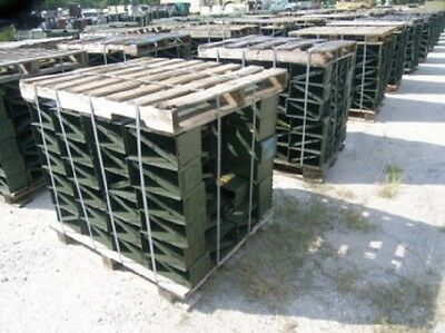 50 Cal M2A1 Ammo Can (3 PACK) Genuine Military Surplus    VGC    FREE SHIPPING