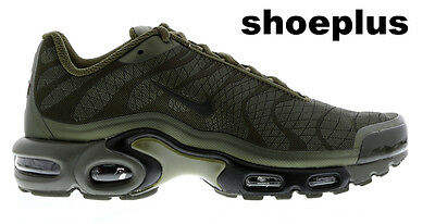 """new arrival 99c37 5d2dc Nike Air Max Plus Tuned 1 Tn Jacquard """"Olive Green"""" Men Trainer Limited  Edition"""