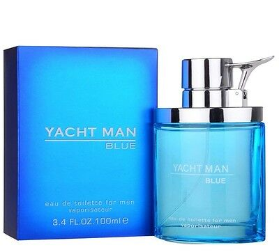 YACHT MAN BLUE - Colonia / Perfume EDT 100 mL -  Homme / Uomo / Hombre