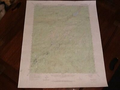1956 Us Dept Of Interior Topo Map Lot #41, Long Barn, Calif, Lyons & Beardsley