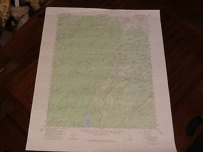 1956 Us Dept Of Interior Topo Map Lot #44, Pinecrest, Calif,  Cherry Lake