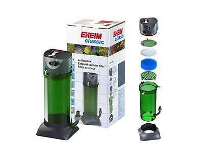 Eheim Classic 250 350 600 Plus External Filter + Media Fish Tank Aquarium