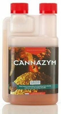 Canna CANNAZYM 250mL Grow Veg Bloom Flower Bud Root Enzyme ***FREE PIPETTE***