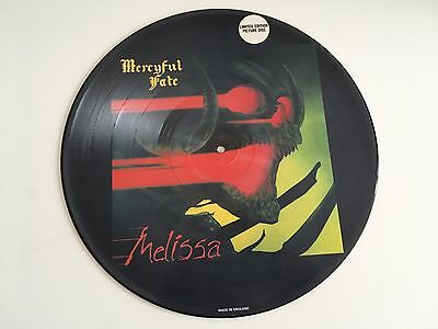 Mercyful Fate  -  Melissa    PicLP  1983  Limited Edition