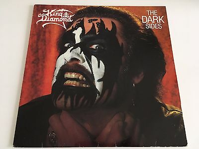 King Diamond   -   The Dark Sides     Vinyl EP  1988
