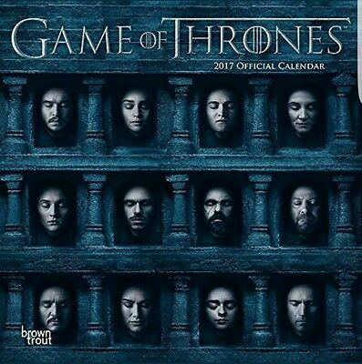 Official Game of Thrones 2017 Wall Calendar 2017 Calender Calenders