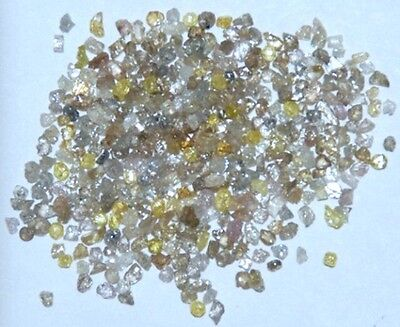 Rough Uncut Mixed Diamond Lot 1/2Ct (50 Loose).  (L250