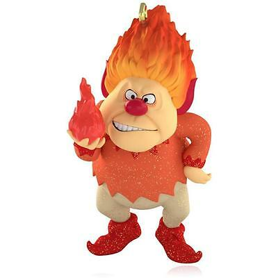 "New 2015 Hallmark ""Heat Miser"" Ornament - ""The Year Without a Santa Claus"""