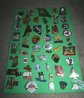 50 Various Lions Club State Pins - Group 05