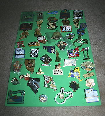 50 Various Lions Club State Pins - Group 03