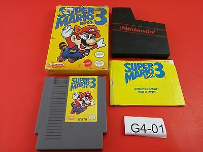 Super Mario Bros 3 [Complete CIB] (NES) Cleaned, Tested & Working