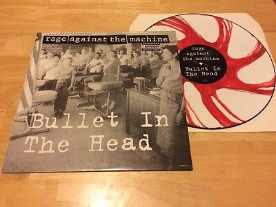 "Rage Against The Machine - Bullet In The Head 12"" Picture Disc Single"