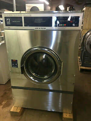 Motel Dexter 55lb-Commercial Washer 1 or 3 phase OPL 30 programs