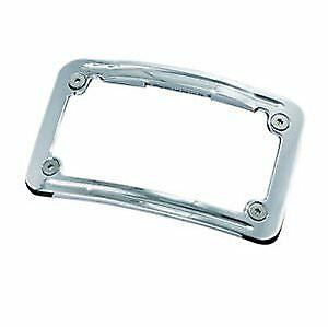 Kuryakyn Number Plate Frame Curved LED