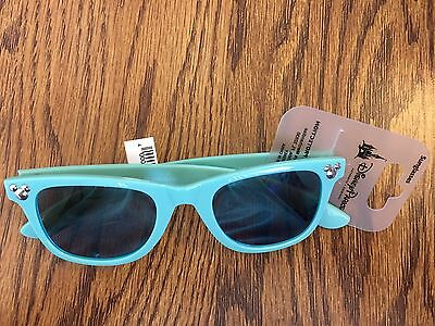 Disney Mickey Icon Reto Green Adult / Teen Sunglass New With Tags
