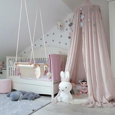 Canopy Bed Netting Mosquito Bedding Net Baby Kids Reading Play Tents Bedcover