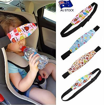 AU STOCK 1pc Safety Baby Seat Sleep Nap Aid Kids Head Fasten Support Holder Belt