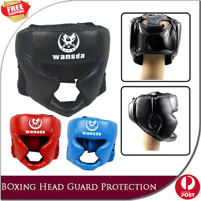 Head Ear Guard KickBoxing Training Protector Boxing MMA Protection Gear Helmet