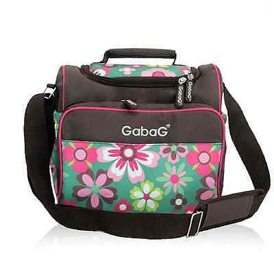 Gabag Baby Cooler Bag, Breastfeeding, Lunch& Travel & 2 Packs of Ice Gel - Daisy