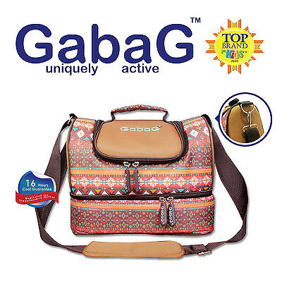 Gabag Baby Cooler Bag, Breastfeeding, Lunch& Travel & 2 Packs of Ice Gel - Tribe