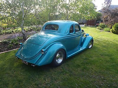steel 1936 ford 5 window coupe