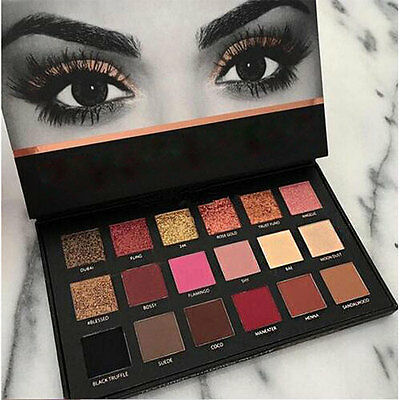 18 Colors Textured Matte Pigment Palette Cosmetic Eye Shadow Colorful Christmas