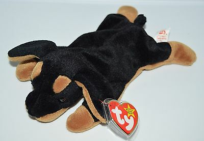 RARE TY DOBY Beanie Baby Style 4110 1996 PVC Pellets -  199.99 ... 057ac723bec