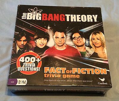 The Big Bang Theory Board Game - Brand New & Sealed