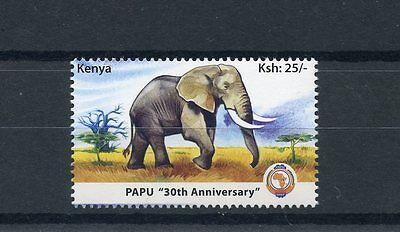 Kenya 2010 MNH PAPU 30th Anniv 1v Set Elephants Pan African Postal Union Stamps