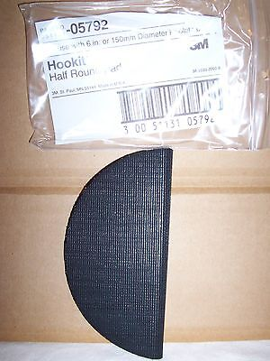 3M Hookit Half Hand Pad   05792   For use with 150mm discs.  For detail sanding