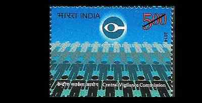 INDIA Indien Inde White Collar Police Anti Corruption MNH NEW 2014