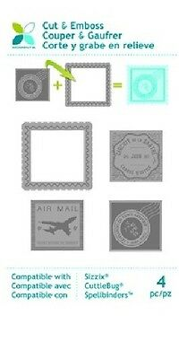 Momenta Cut & Emboss Mix & Match Dies ~Postage Stamps