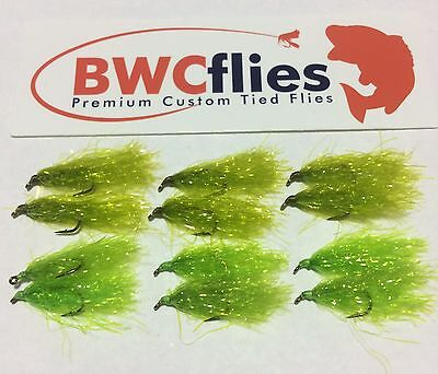 BWC Flies 12 x  Weed fly for Blackfish and Luderick