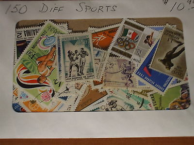 SPORTS- SELECTION OF 150 DIFFERENT mainly cancelled, no US, Canada