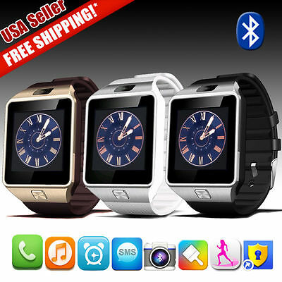 DZ09 Bluetooth Smart Watch Phones SIM Camera TF For Apple iPhone Samsung Android
