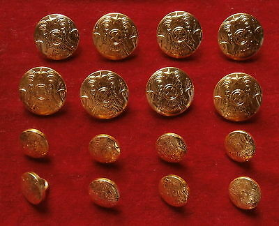 16 buttons for a uniform of the general of Armed Forces of Kazakhstan