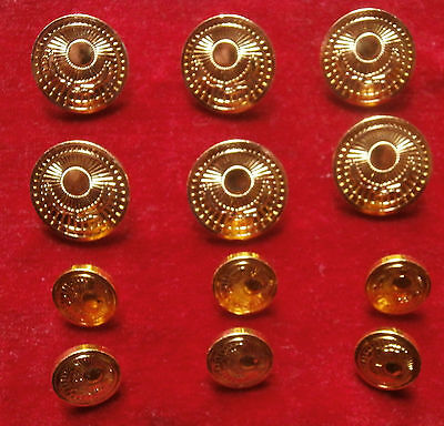 12 buttons of the officer of Armed forces of Kazakhstan