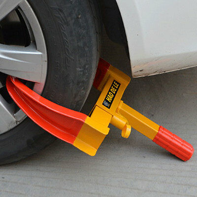 New Auto Car Truck Anti-Theft Towing Wheel Lock Clamp Boot Tire Claw Trailer CA