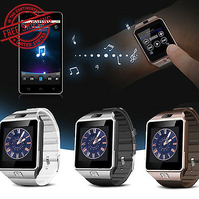 DZ09 Smart Sports Bluetooth SIM Card Watch Phone Mate Camera for Android IOS US