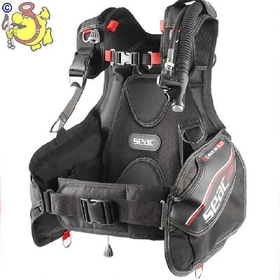 Uk Seac Sub Bcd  Ego  Cordura 1000 Size Xxs For Youg Divers