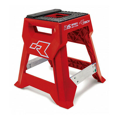 Cavalletto Centrale Alzamoto Cross [Racetech] R15 Works Rosso - R-Cavmx0015Rs