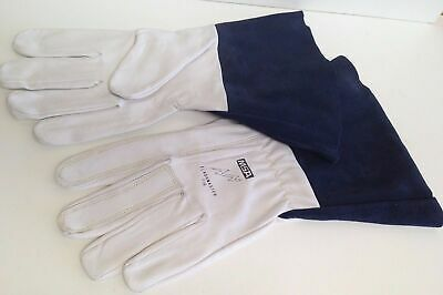 6 pairs MSA TIGMate Tig Leather Welder Welding Gloves Flashmaster Kevlar Large L
