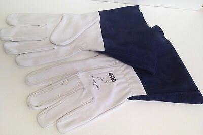 MSA TIGMate Tig Leather Welder Welding Gloves Flashmaster Kevlar Large pairs x 6