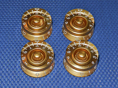 USA Gibson Les Paul Traditional GUITAR CONTROL KNOBS Speed Knobs Gold